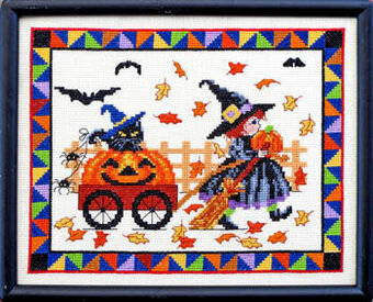 Pumpkin Parade - Cross Stitch Pattern