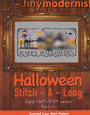 Halloween Stitch-a-Long Part 1 - Cross Stitch Pattern