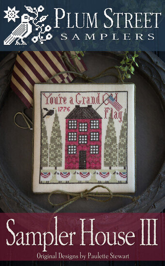 Sampler House III - Cross Stitch Pattern