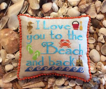 To the Beach & Back - Cross Stitch Pattern