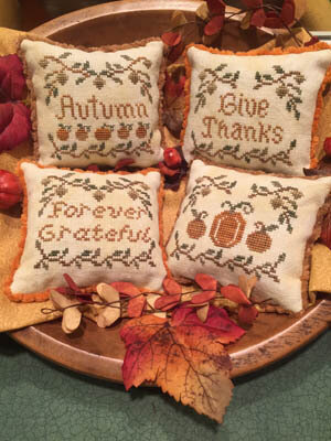 Autumn Whimsies - Cross Stitch Pattern