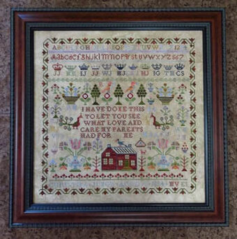 Christina Junor - Cross Stitch Pattern