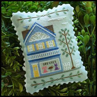 Main Street Dress Shop - Cross Stitch Pattern