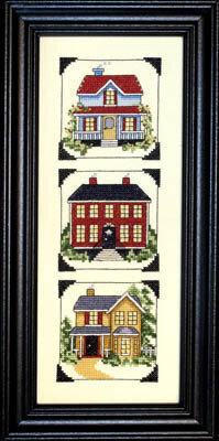 Country Homes - Cross Stitch Pattern