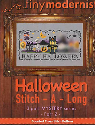 Halloween Stitch A Long Part 2 - Cross Stitch Pattern