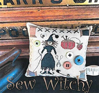 Sew Witchy - Cross Stitch Pattern