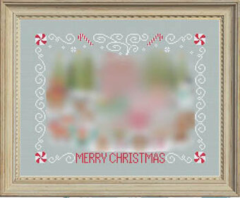 Christmas Stitch-a-Long Border - Cross Stitch Pattern