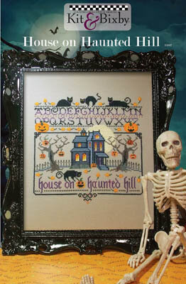 House on Haunted Hill - Cross Stitch Pattern