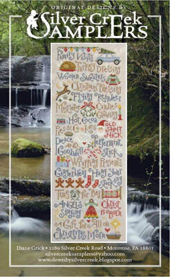 My Christmas List - Cross Stitch Pattern