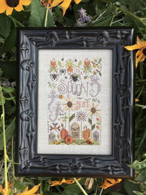 Spooky Notes - Cross Stitch Pattern