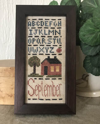 September Mini Sampler - Cross Stitch Pattern
