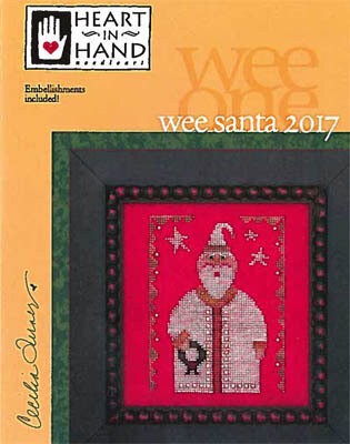 Wee Santa 2017 - Cross Stitch Pattern