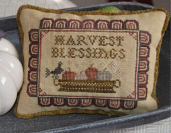 Harvest Blessings - Cross Stitch Pattern