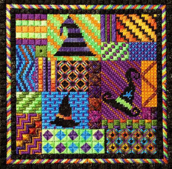 Holiday Delights - Halloween - Needlepoint Pattern