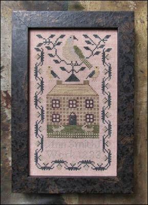 Miniature Quaker Sampler - Cross Stitch Pattern