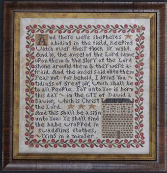 Tidings Of Great Joy - Cross Stitch Pattern