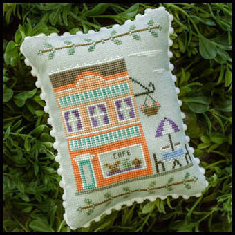 Main Street Cafe - Cross Stitch Pattern