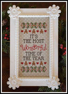 Wonderful Time of Year - Cross Stitch Pattern
