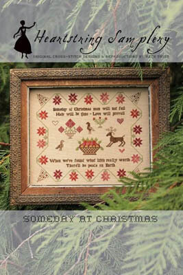 Someday at Christmas - Cross Stitch Pattern