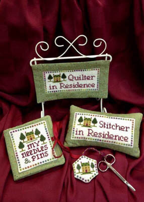 Quilter/Stitcher in Residence - Cross Stitch Pattern