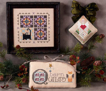 Barn Quilts - Cross Stitch Pattern