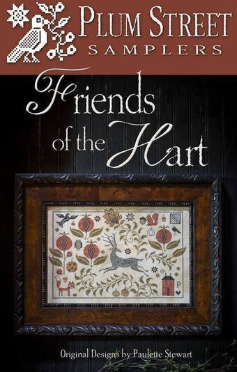 Friends of the Hart - Cross Stitch Pattern