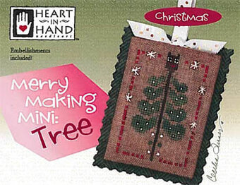 Merry Making Mini - Tree - Cross Stitch Pattern