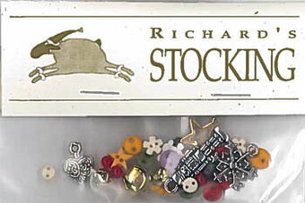 Richard's Stocking - Charm & Embellishment Pack