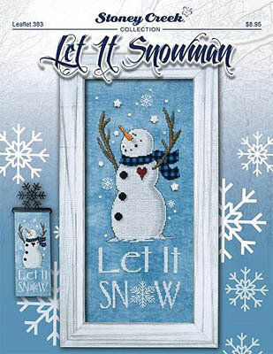 Let it Snowman - Cross Stitch Pattern