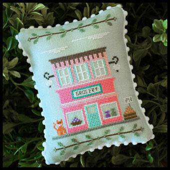 Main Street Grocery - Cross Stitch Pattern