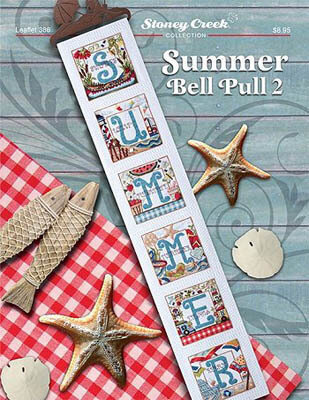 Summer Bell Pull 2 - Cross Stitch Pattern