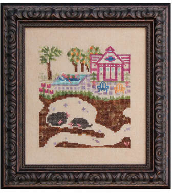 Swimming Hole - Cross Stitch Pattern