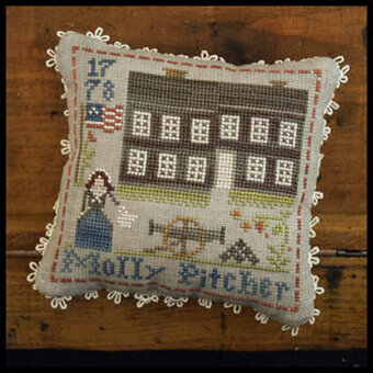 Molly Pitcher - Early American - Cross Stitch Pattern