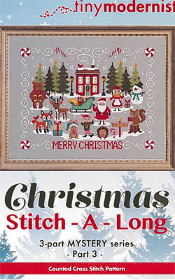 Christmas Stitch-a-Long Part 3 - Cross Stitch Pattern