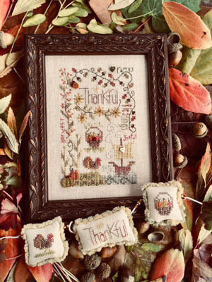 Thankful Notes - Cross Stitch Pattern
