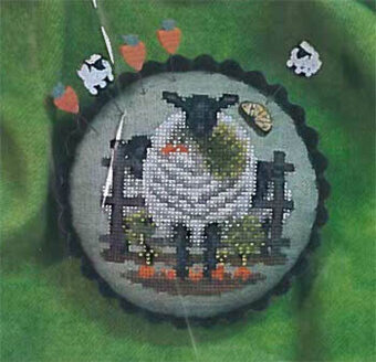 Carrots For Ewe - Cross Stitch Pattern