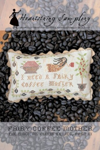 Fairy Coffee Mother - Cross Stitch Pattern