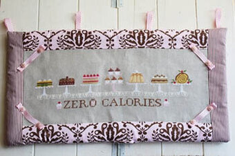 Zero Calories - Cross Stitch Pattern