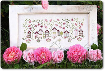 Roses Village - Cross Stitch Pattern