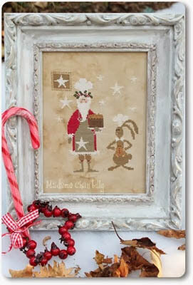 Santa Master Chef - Cross Stitch Pattern