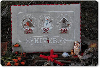 Hiver (Winter) - Cross Stitch Pattern