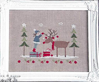 Dear Rudolph - Cross Stitch Pattern