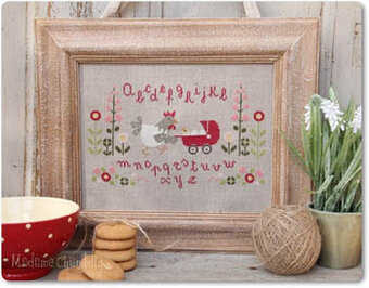 Promenade - Cross Stitch Pattern