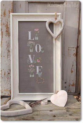 My Love - Cross Stitch Pattern