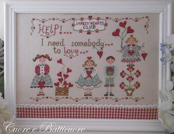 All You Need is Love - Cross Stitch Pattern