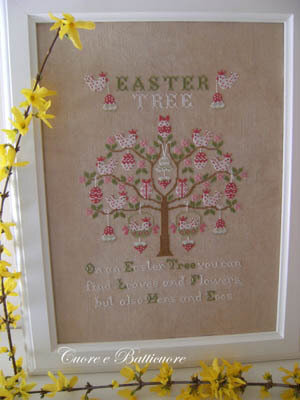 Easter Tree - Cross Stitch Pattern