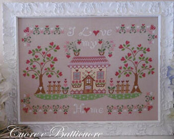 Un Amore Di Casa (I Love My Home) - Cross Stitch Pattern