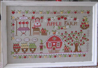 Apple Farm - Cross Stitch Pattern