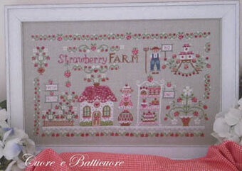 Strawberry Farm - Cross Stitch Pattern