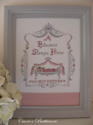 Royal Baby - Princess - Cross Stitch Pattern